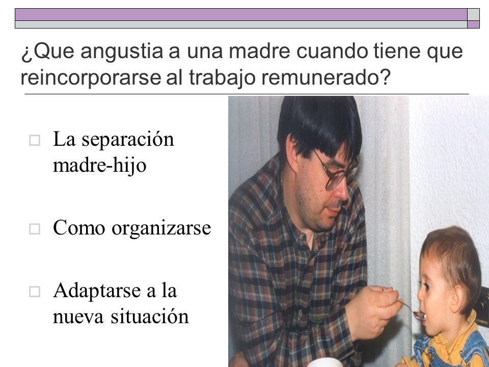 Reflexiones Amamantar es un Derecho Amamantar previene el absentismo laboral El papel del padre es fundamental