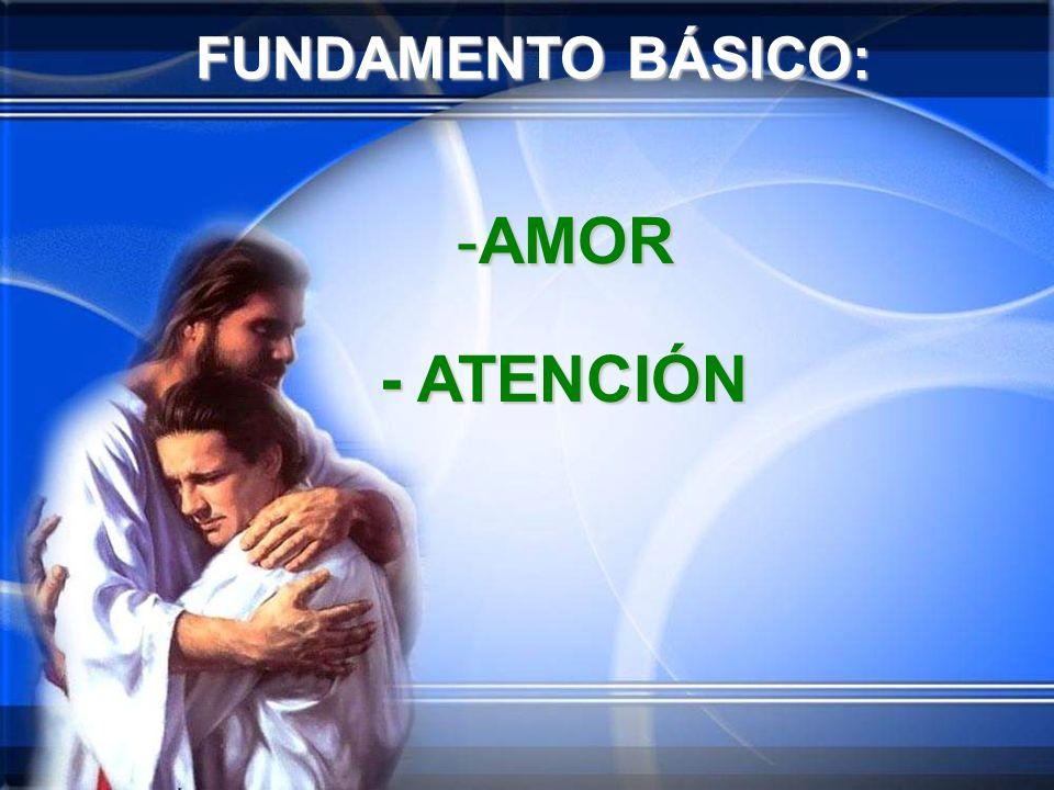 FUNDAMENTO BÁSICO: -A-A-A-AMOR - ATENCIÓN