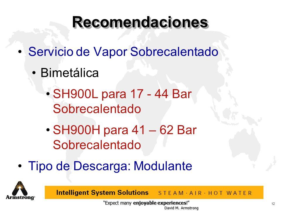 Expect many enjoyable experiences! David M. Armstrong Expect many enjoyable experiences! David M. Armstrong 12 RecomendacionesRecomendaciones Servicio