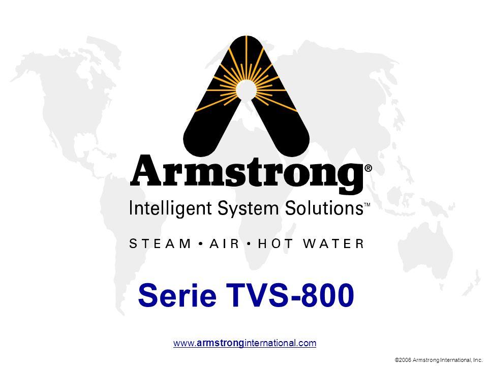©2006 Armstrong International, Inc. www.armstronginternational.com Serie TVS-800