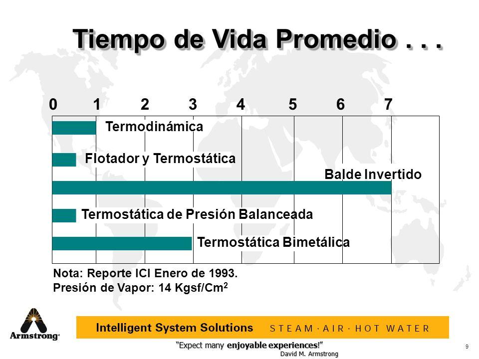 Expect many enjoyable experiences! David M. Armstrong Expect many enjoyable experiences! David M. Armstrong 9 Tiempo de Vida Promedio... 01234567 Term