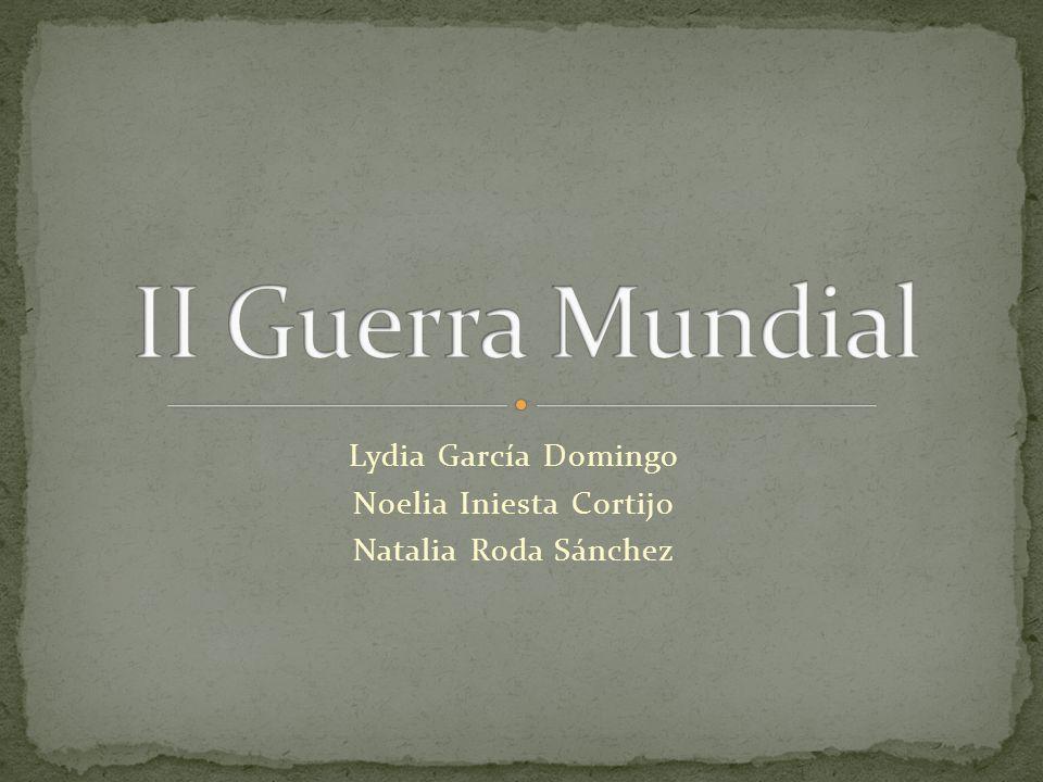 Lydia García Domingo Noelia Iniesta Cortijo Natalia Roda Sánchez