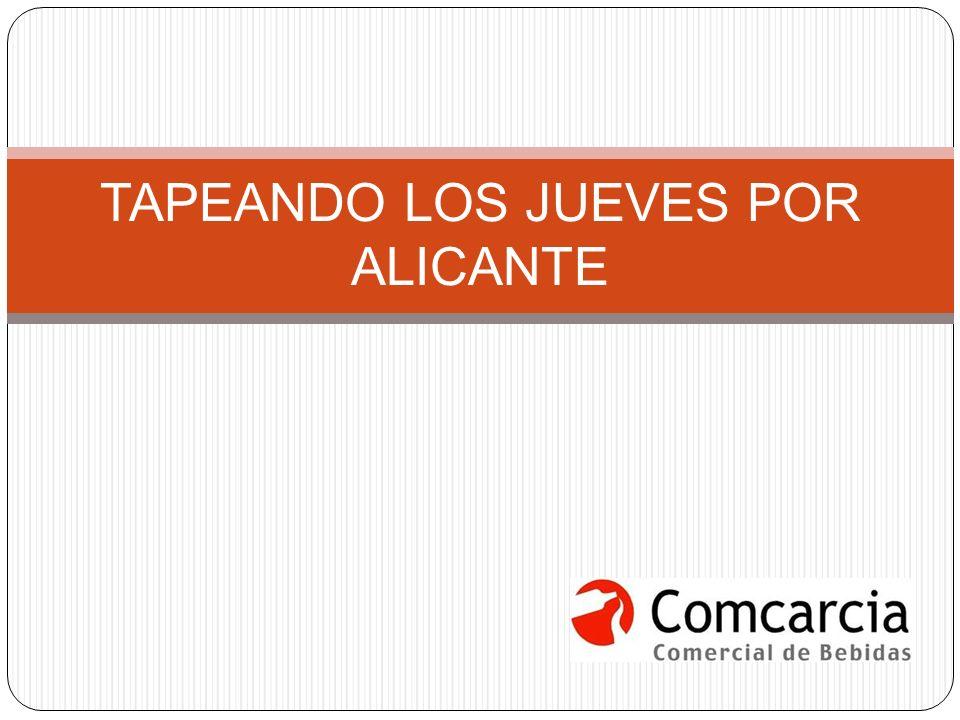 TAPEANDO LOS JUEVES POR ALICANTE