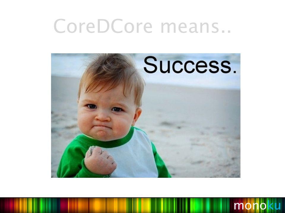 Librería JAR de CoreDCore Servicios Básicos CRUD Herramientas GWT Paquete JAR/EAR y archivos configuración del deploy(XML).