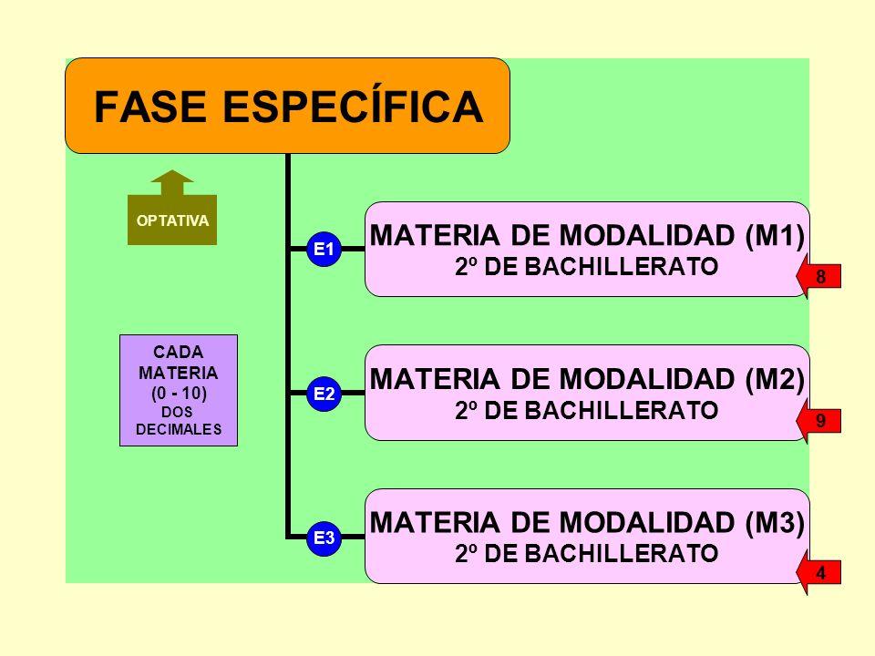 CADA MATERIA (0 - 10) DOS DECIMALES OPTATIVA E1 E2 E3 8 9 4