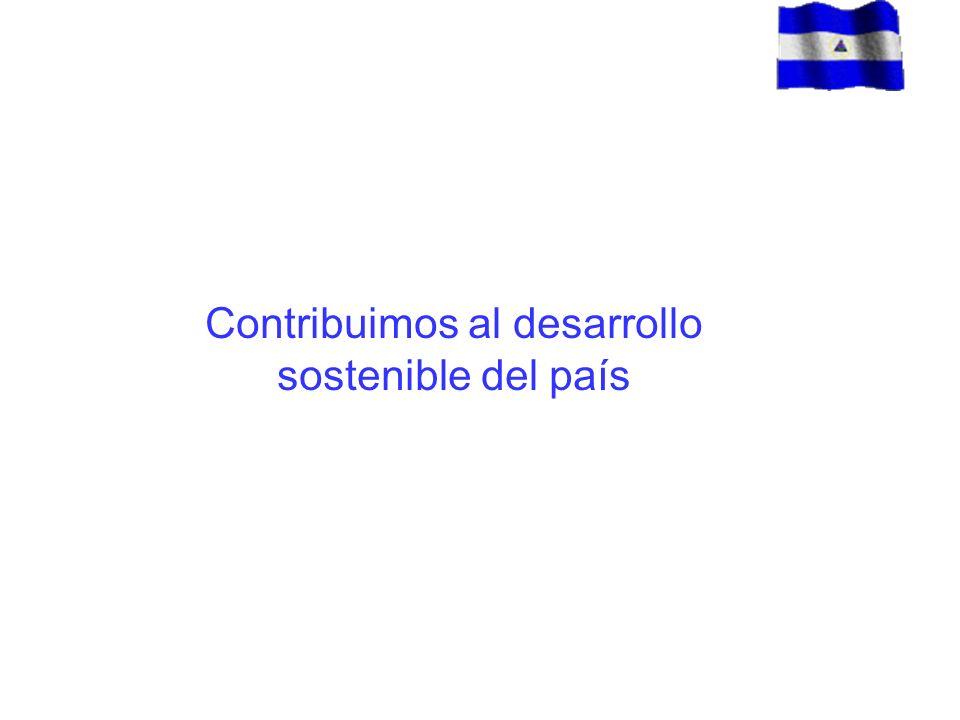 Contribuimos al desarrollo sostenible del país