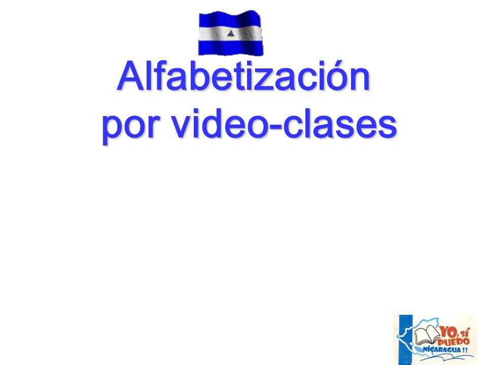 Alfabetización por video-clases por video-clases