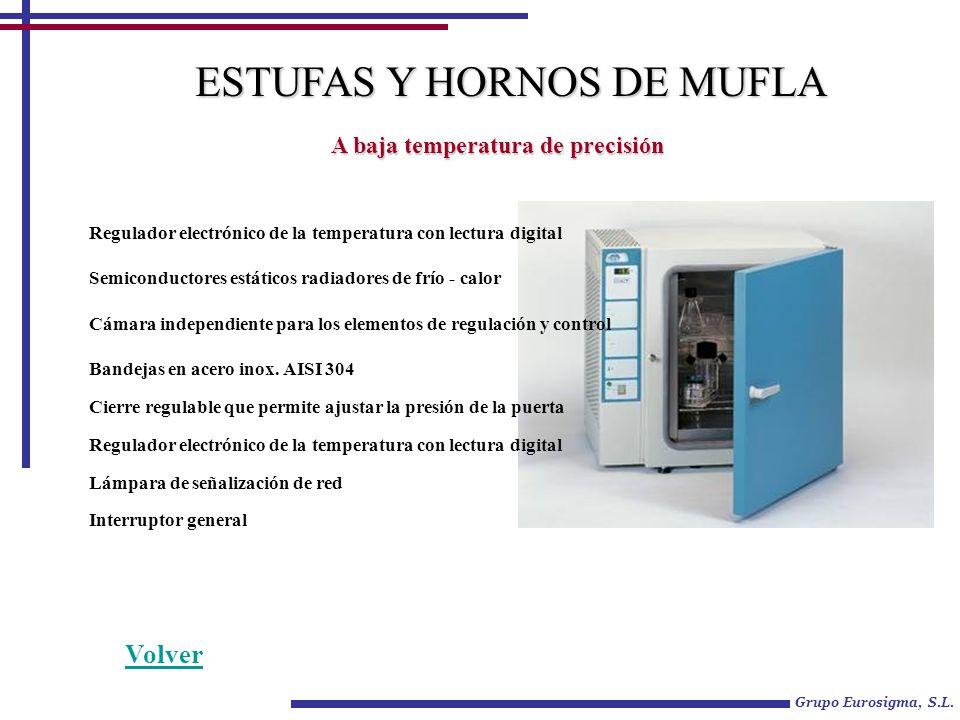 Grupo Eurosigma, S.L. A baja temperatura de precisión Regulador electrónico de la temperatura con lectura digital Semiconductores estáticos radiadores