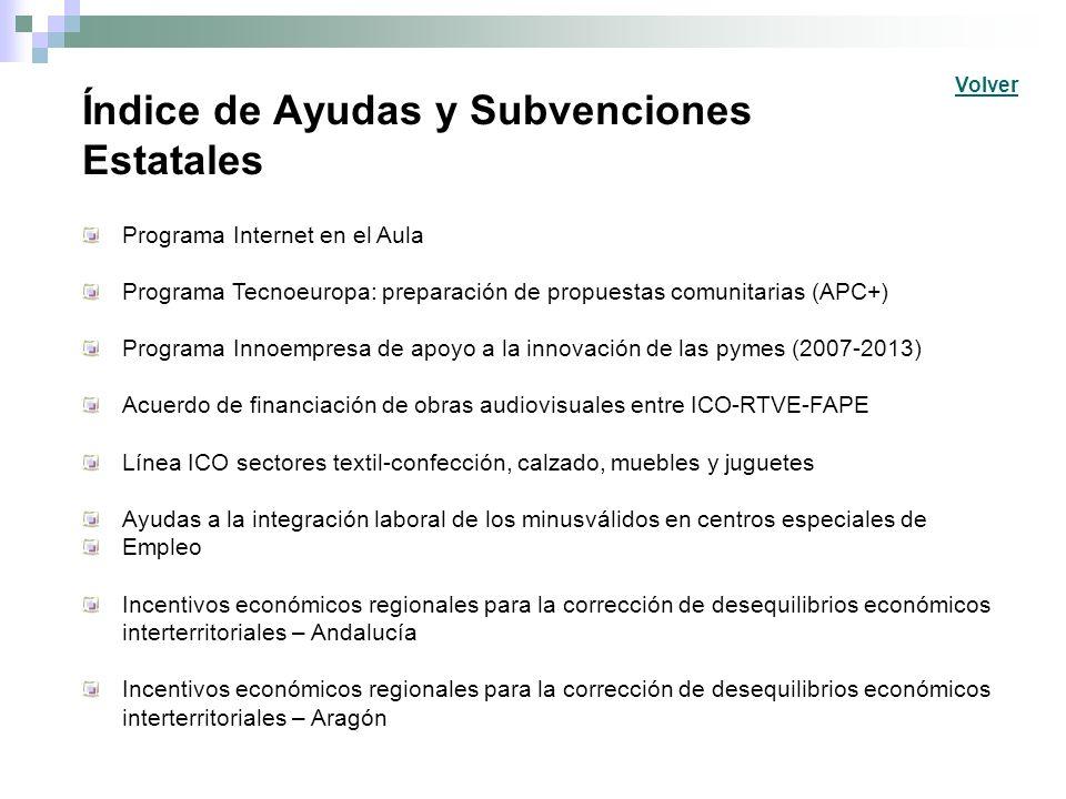Índice de Ayudas y Subvenciones Estatales Incentivos económicos regionales para la corrección de desequilibrios económicos interterritoriales – Asturias Debido a las múltiples peticiones recibidas se ha habilitado este lugar para que pueda ofrecer los servicios de su empresa.