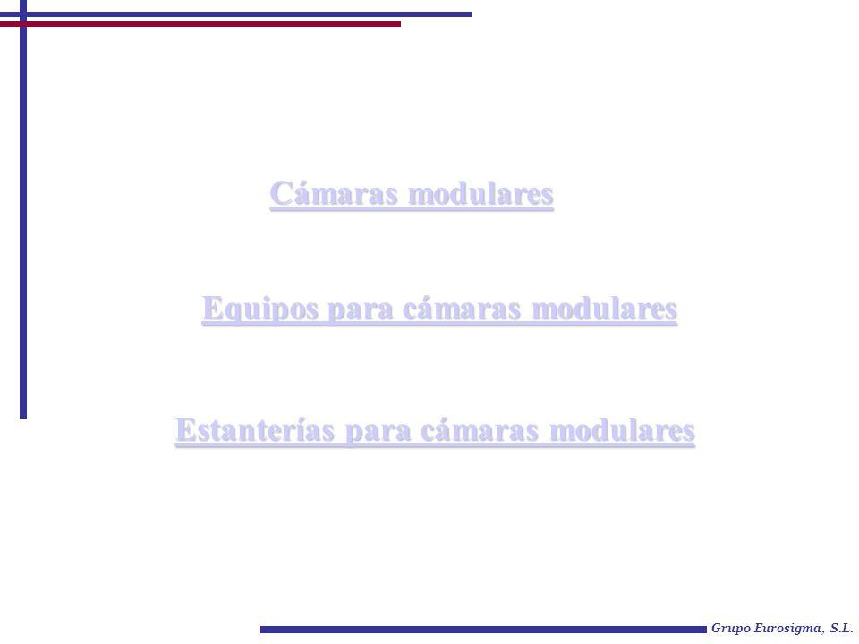 Estanterías para cámaras modulares Estanterías para cámaras modulares Cámaras modulares Cámaras modulares Equipos para cámaras modulares Equipos para