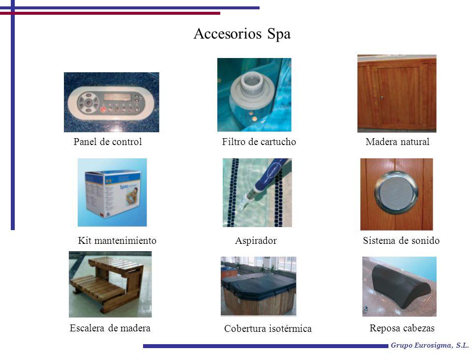 Grupo Eurosigma, S.L. Spa Portátil Capacidad: 4 adultos Volumen de agua: 1000l