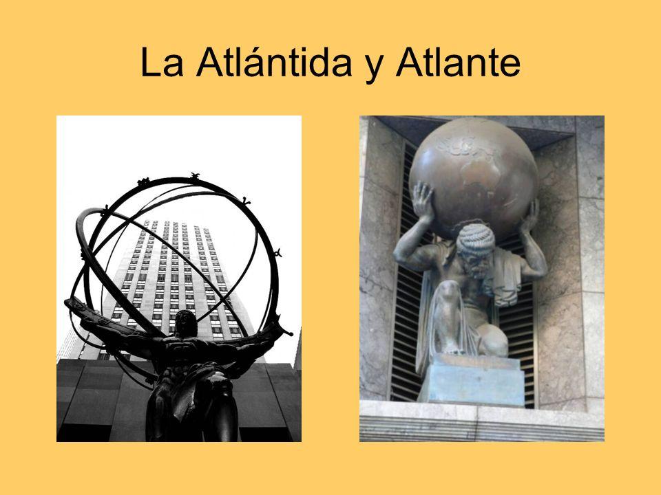 La Atlántida y Atlante