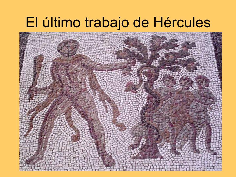 El último trabajo de Hércules