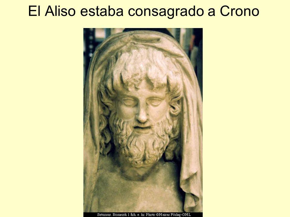 El Aliso estaba consagrado a Crono