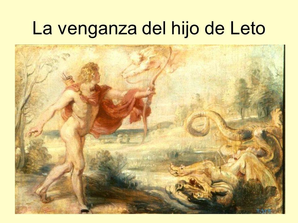 La venganza del hijo de Leto
