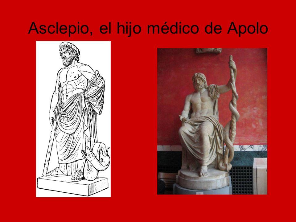 Asclepio, el hijo médico de Apolo
