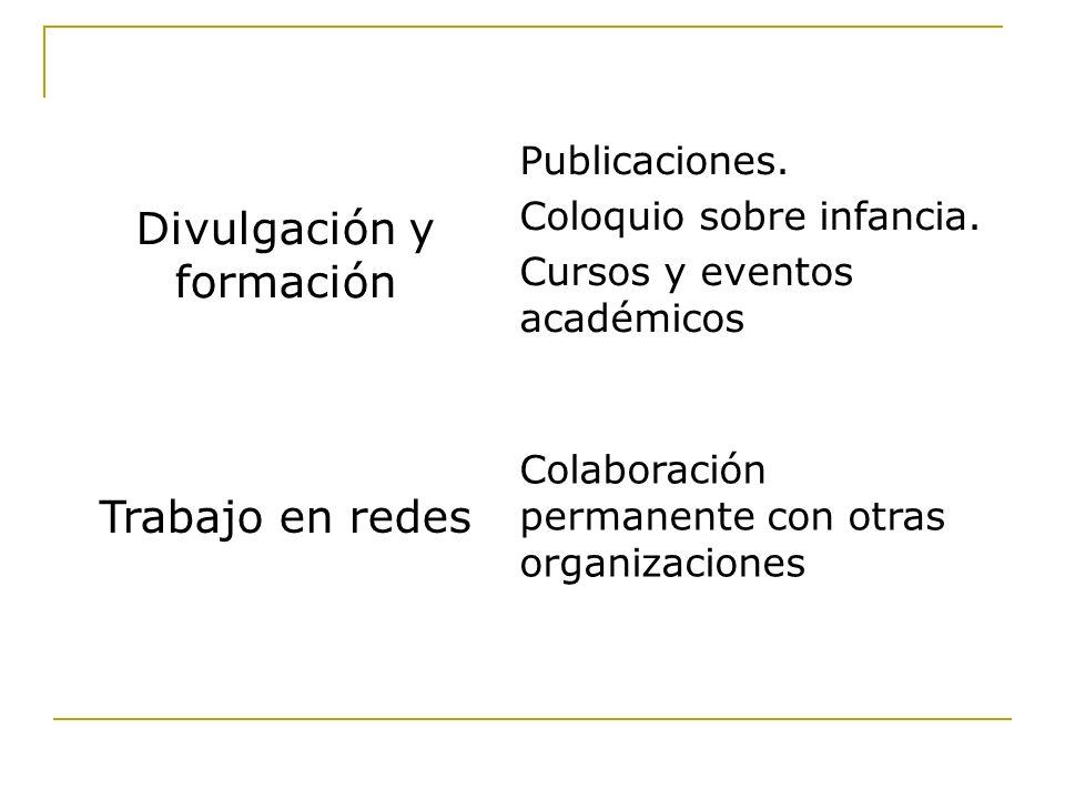 Análisis de situación, evaluación de proyectos y de la política nacional frente al trabajo infantil.