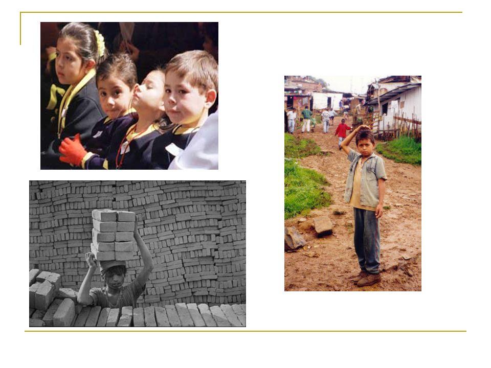 Mirada rápida a la situación de la infancia en el país.
