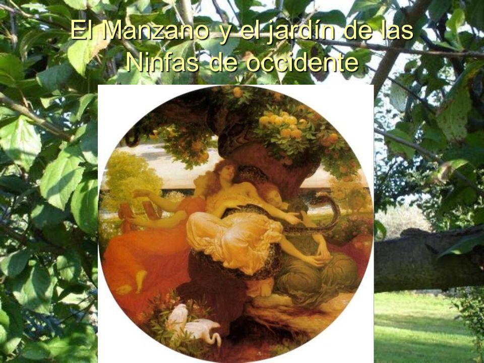 El Manzano y el jardín de las Ninfas de occidente