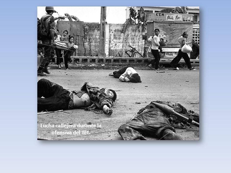 Lucha callejera durante la ofensiva del Têt.