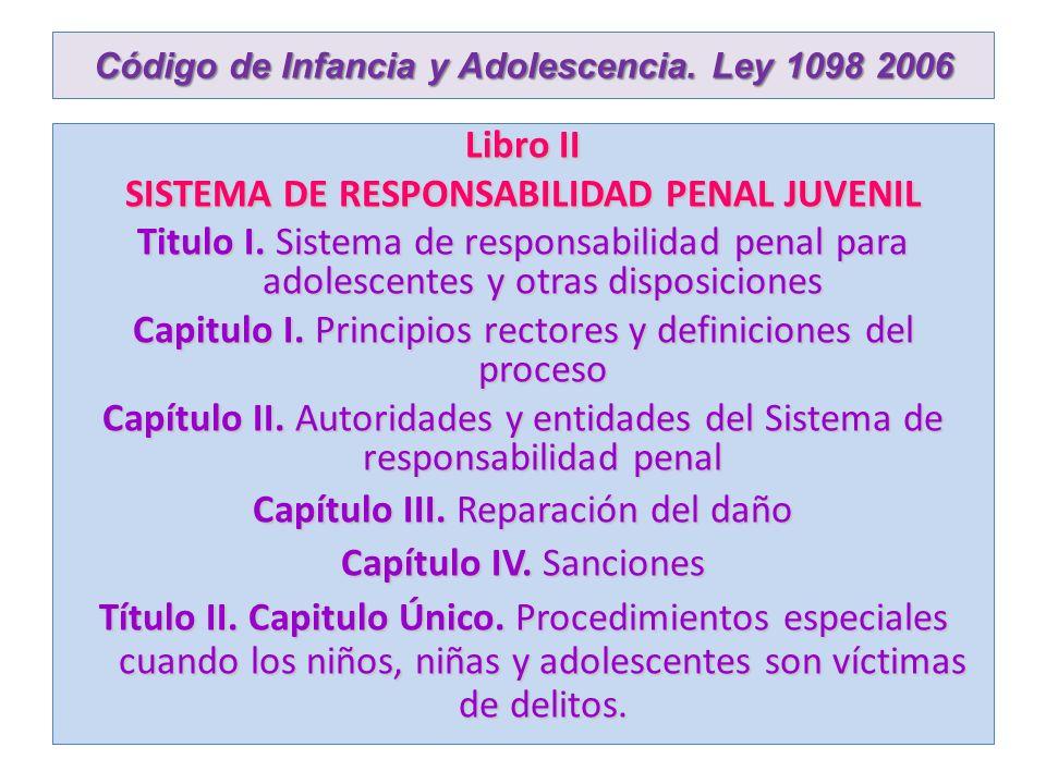 CODIGO DE LA INFANCIA Y LA ADOLESCENCIA.LEY 1098 DE 2006 6.