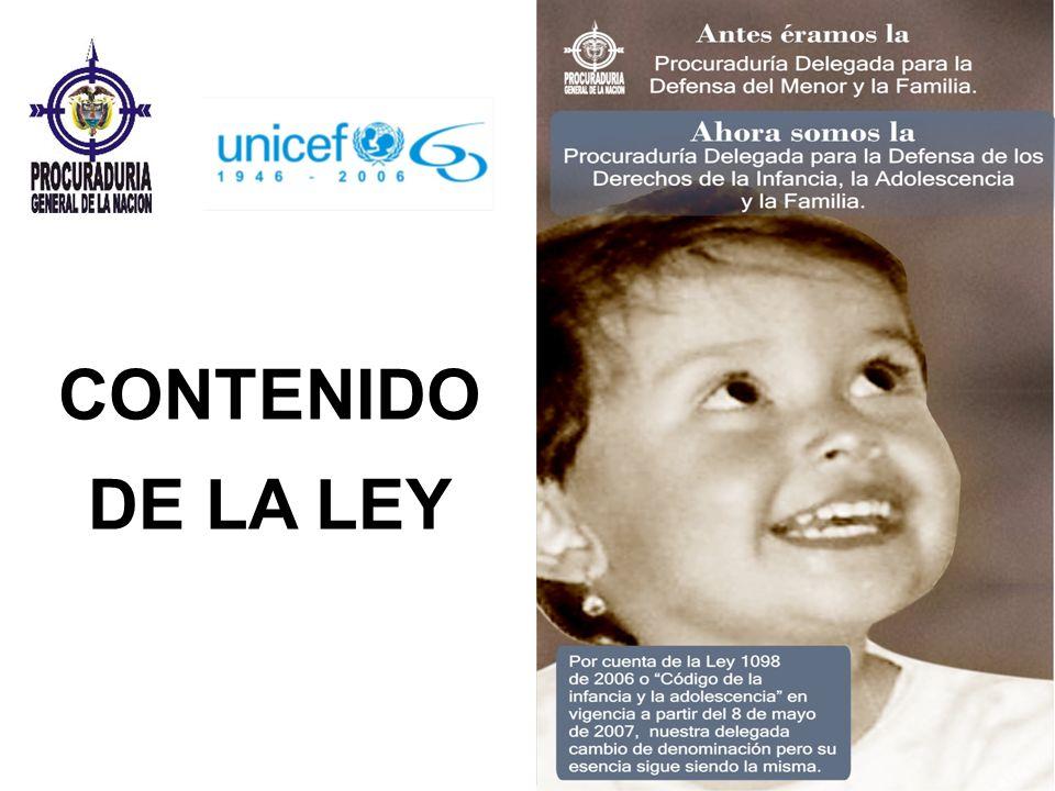 CONTENIDO DE LA LEY