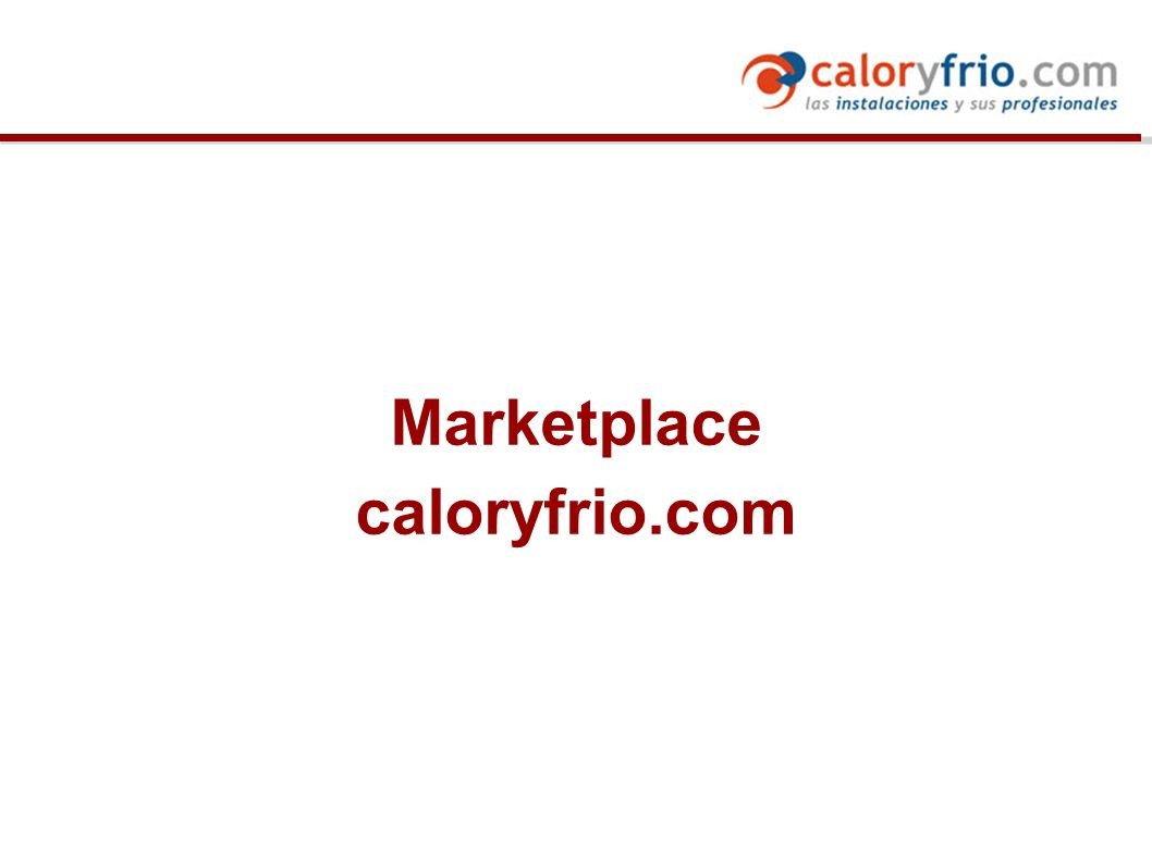 Marketplace caloryfrio.com