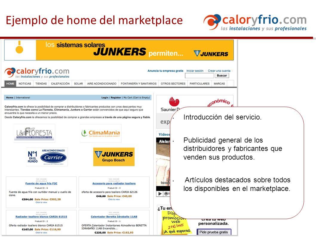 Ejemplo de categoría de productos Los productos están clasificados por categorías y subcategorías.