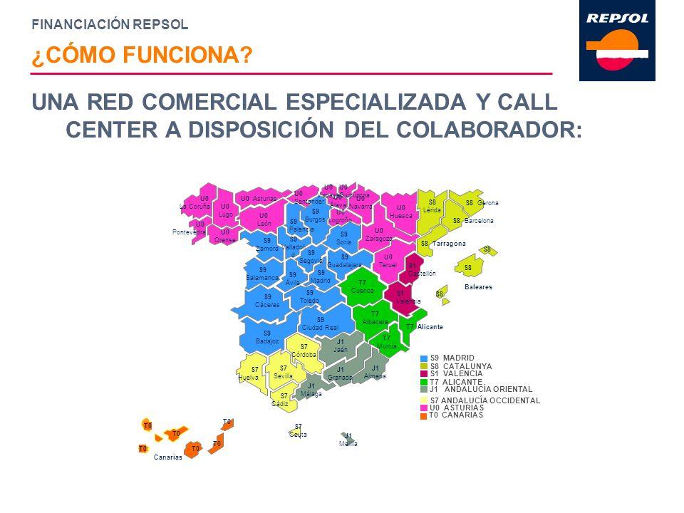 FINANCIACIÓN REPSOL UNA RED COMERCIAL ESPECIALIZADA Y CALL CENTER A DISPOSICIÓN DEL COLABORADOR: ¿CÓMO FUNCIONA?