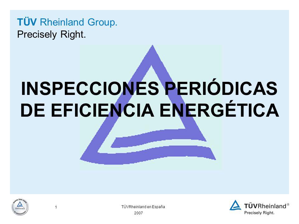 2007 1 TÜVRheinland en España TÜV Rheinland Group.