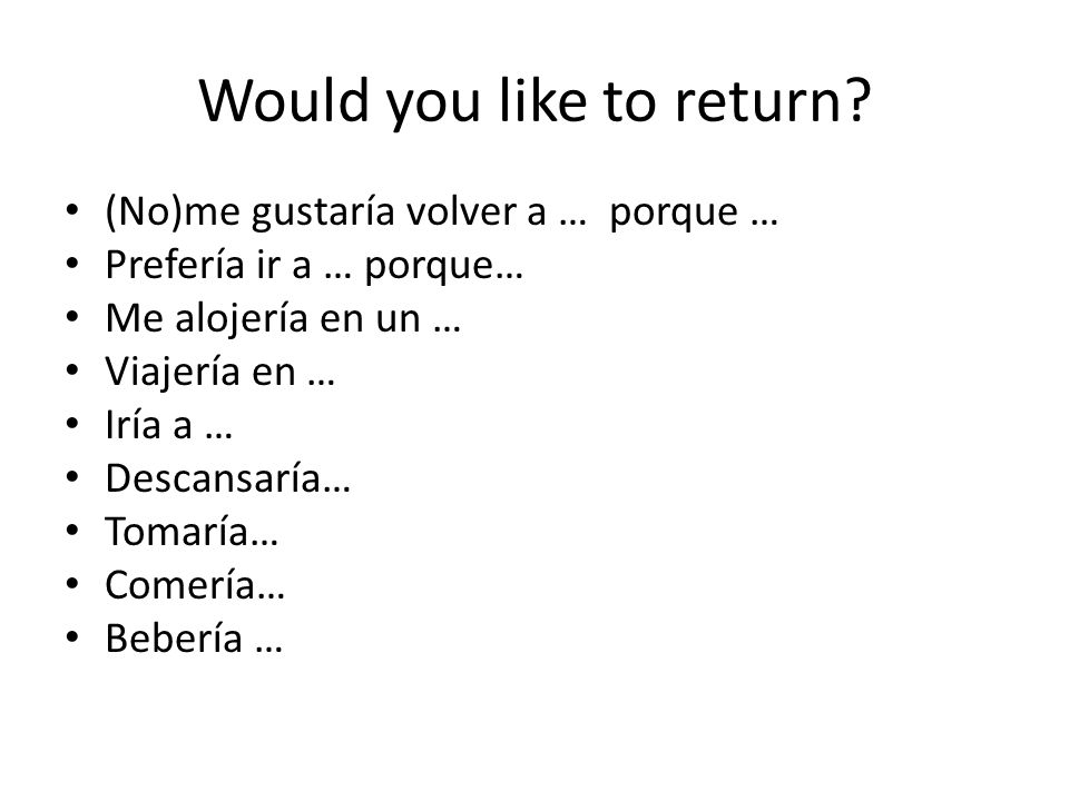 Would you like to return.