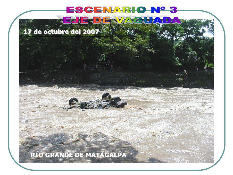 RÍO GRANDE DE MATAGALPA 17 de octubre del 2007