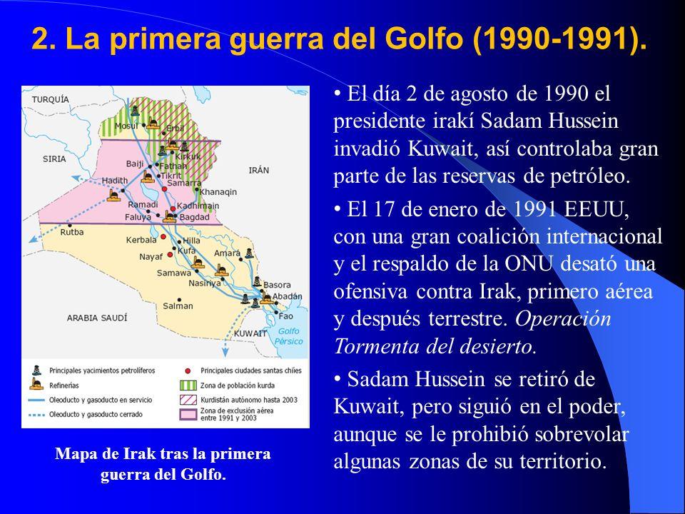 2.La primera guerra del Golfo (1990-1991).