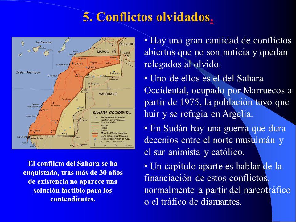 5.Conflictos olvidados..