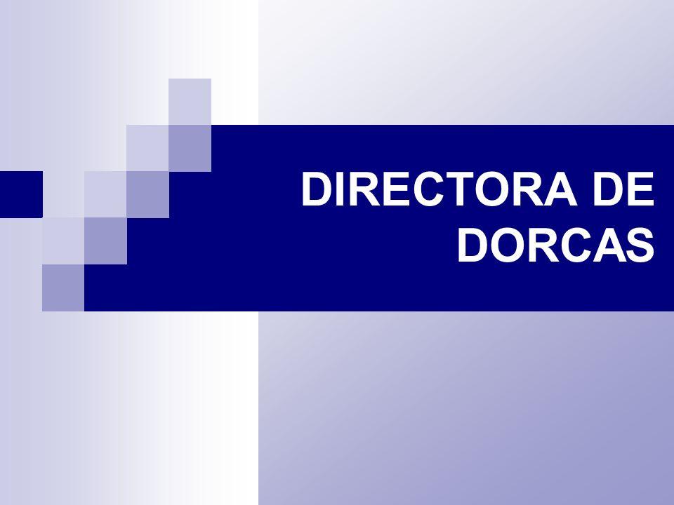 DIRECTORA DE DORCAS