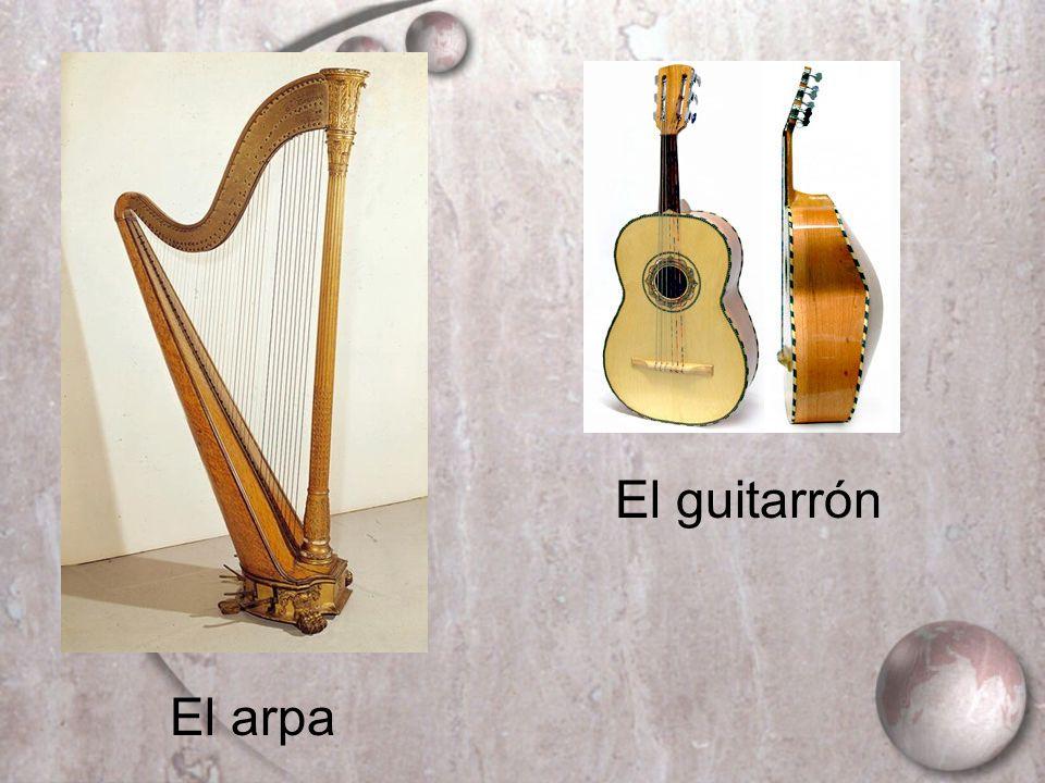 El arpa El guitarrón