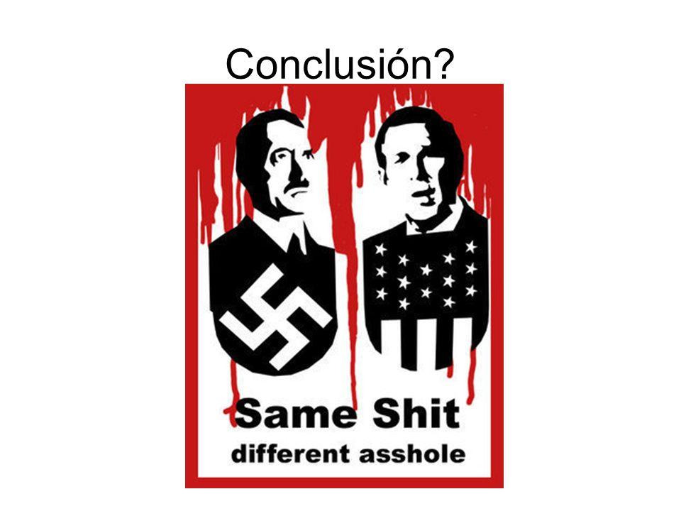 Conclusión?