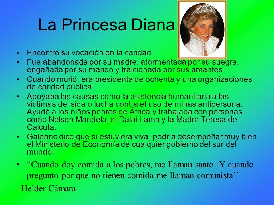 La Princesa Diana Encontró su vocación en la caridad. Fue abandonada por su madre, atormentada por su suegra, engañada por su marido y traicionada por