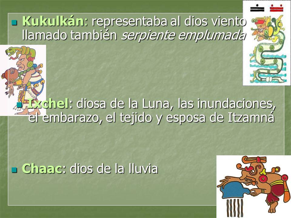Kukulkán: representaba al dios viento llamado también serpiente emplumada Kukulkán: representaba al dios viento llamado también serpiente emplumada Ix