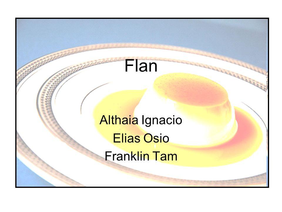 La Historia de Flan Flan fue en Rome porque de los huevos de los pollos.