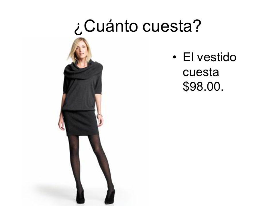 ¿Cuánto cuesta? La camiseta $100.00