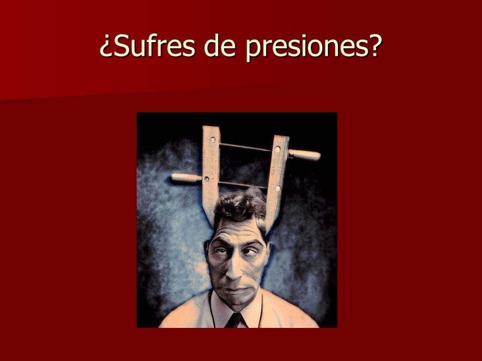 ¿Sufres de tensiones?