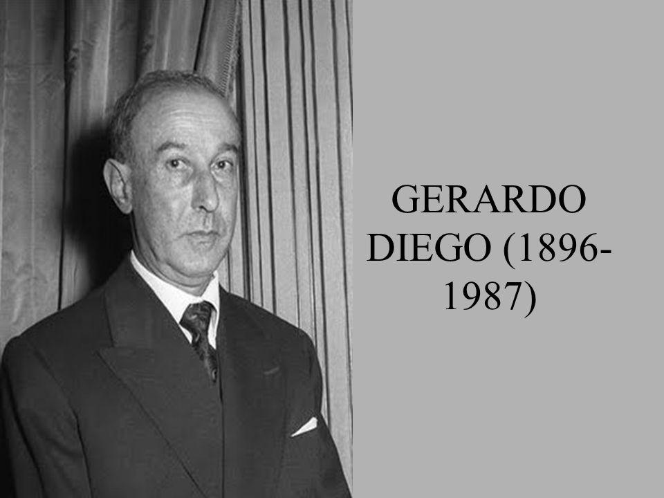 GERARDO DIEGO (1896- 1987)