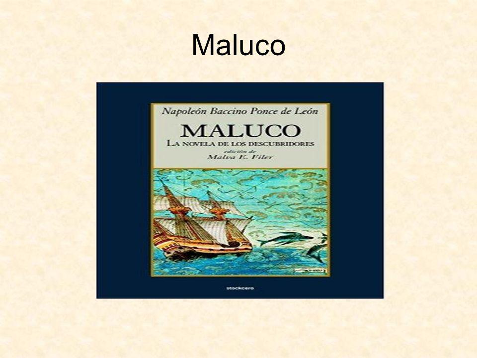 Presentación de la novela Maluco.