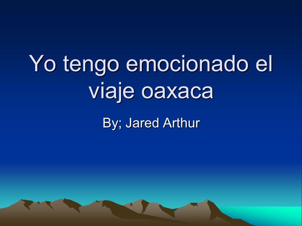 Yo tengo emocionado el viaje oaxaca By; Jared Arthur