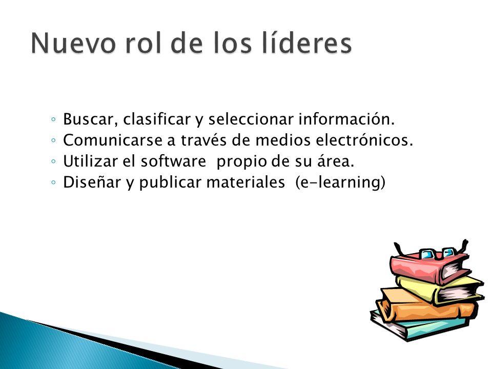 Buscar, clasificar y seleccionar información. Comunicarse a través de medios electrónicos.