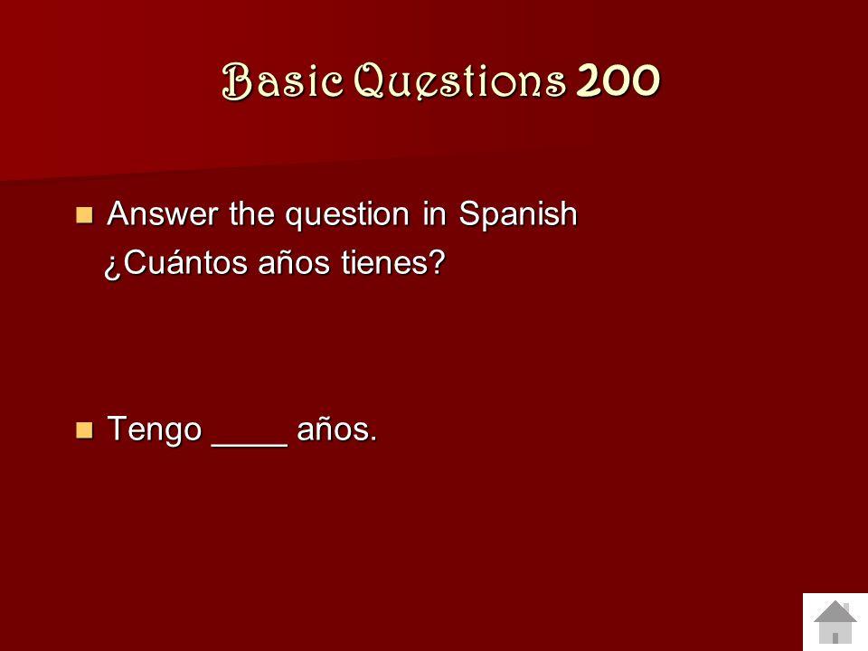 Backwards Verbs 400 Translate to Spanish: Translate to Spanish: Juan and I like museums.