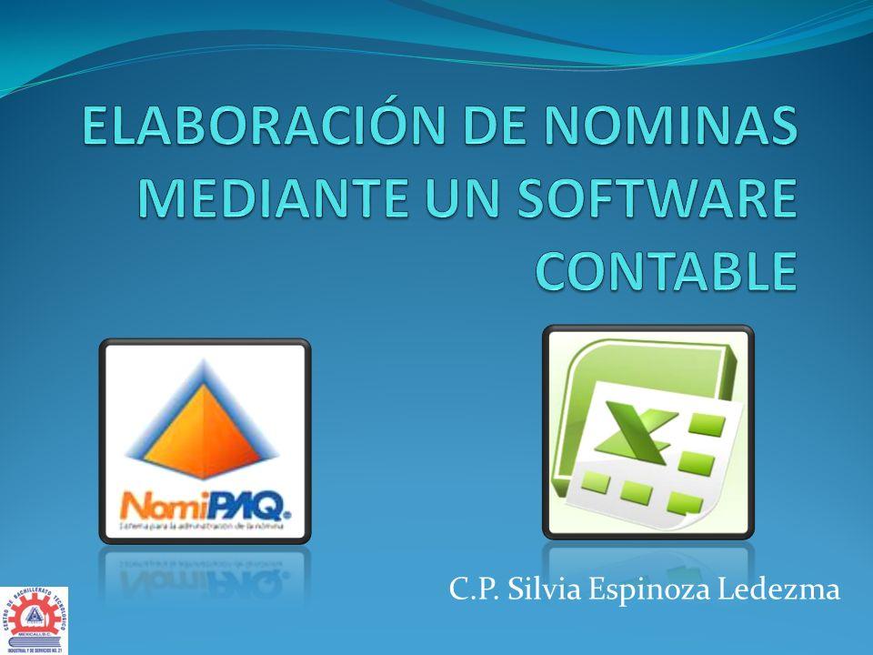 C.P. Silvia Espinoza Ledezma