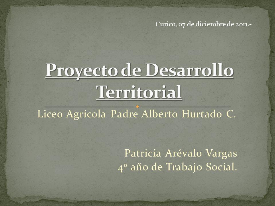 CRATE.Liceo Agrícola Padre Alberto Hurtado C. (LAPAHC).