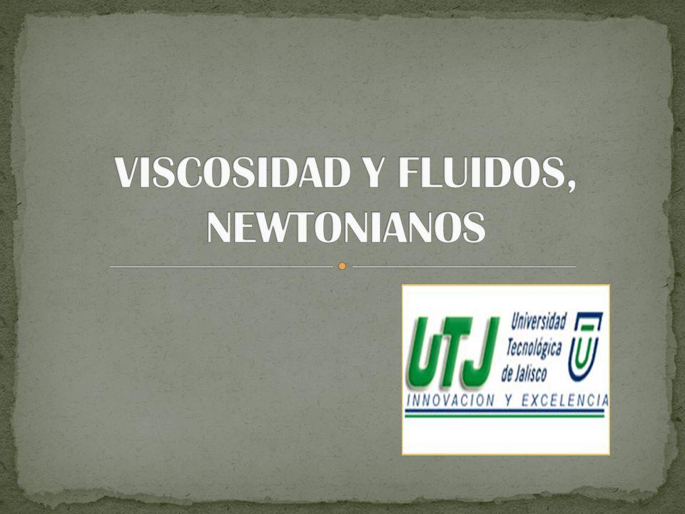 La viscosidad es una manifestación del movimiento molecular dentro del fluido.